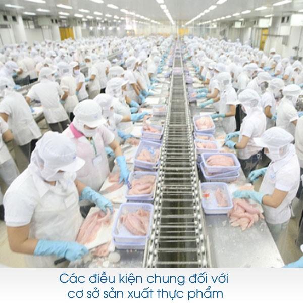 Tư vấn điều kiện chung của các cơ sở sản xuất kinh doanh thực phẩm | Uy tín  - Miễn Phí 24/7